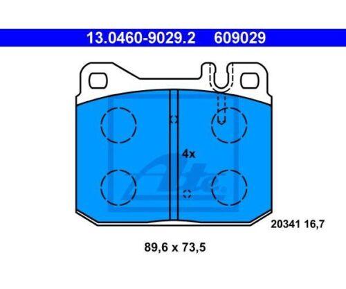 disc brake 13.0460-9029.2 ATE Brake Pad Set