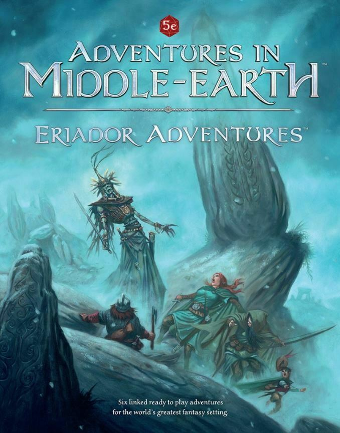 5th Edition RPG Adventures in Middle-Earth - Eriador Adventures