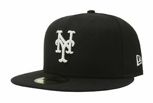 watch 40b46 b8ddc Image is loading New-Era-59Fifty-Hat-MLB-New-York-Mets-