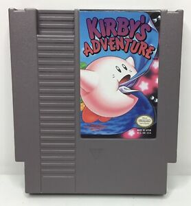 Nintendo-NES-Kirby-s-Adventure-Video-Game-Cartridge-Authentic-Cleaned-Tested