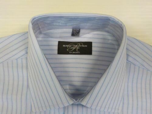 Size XL 43-44 cm Russell Collection Mens Short Sleeve Shirt 943M