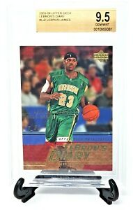 2003-Upper-Deck-Cavs-Lakers-LEBRON-JAMES-Rookie-Basketball-Card-Grade-GEM-MINT