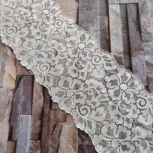 10Yards Pretty 160MM Width Embroidery Lace Ribbon DIY Sewing Skirt Accessories