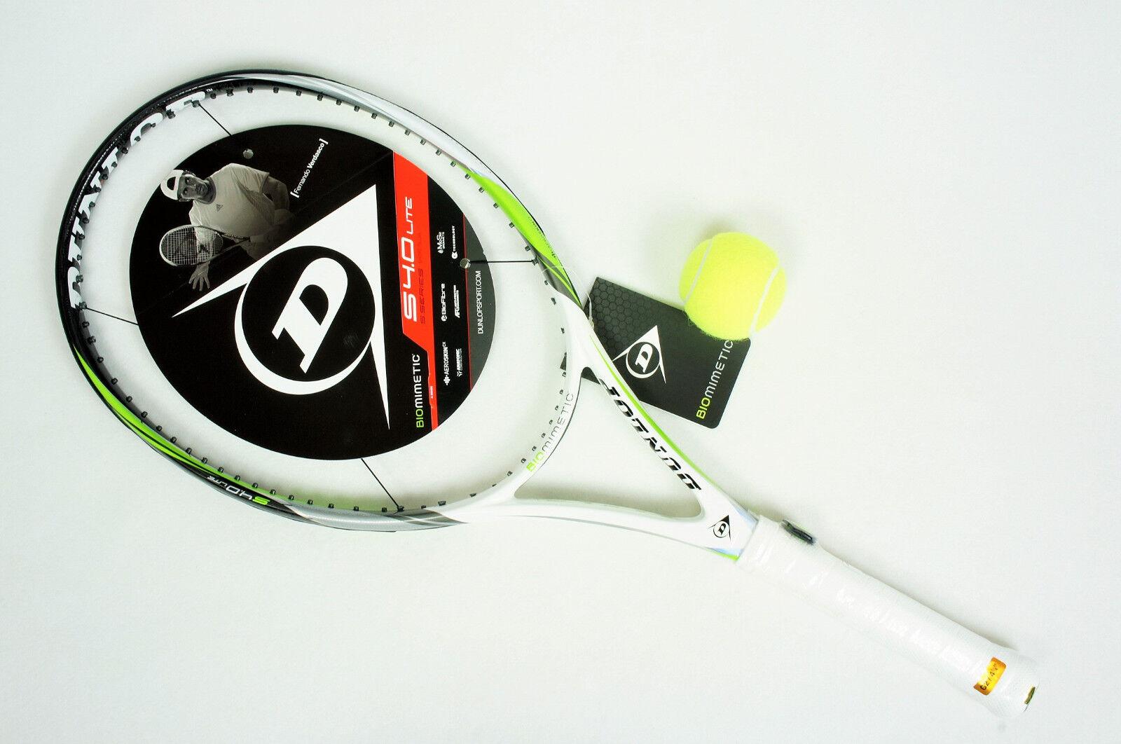 ¡ nuevo  Dunlop Biomimetic S4.0 Lite 4 1 4 Raqueta De Tenis (  2549 años)
