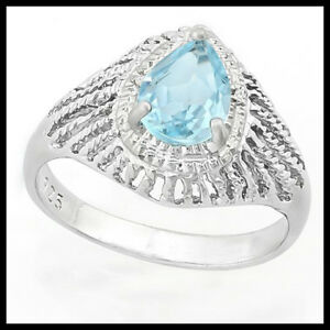 Champagne Diamond and White D Details about  /925 Sterling Silver Genuine Baby Swiss Blue Topaz