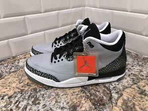 Nike-Air-Jordan-3-Retro-Wolf-Grey-Metallic-Silver-Black-SZ-12-136064-004