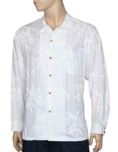 Wedding Shirt White Paradise Found™Hawaiian Shirt Distinctive Long Sleeve Rayon