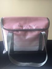 MARY KAY COSMETIC ORGANIZER BAG PINK W/REMOVABLE POUCH