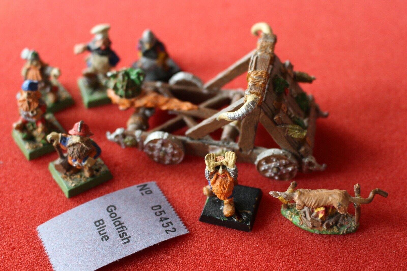 Games Workshop Warhammer Dwarf Dwarves Dwarves Dwarves Goblobber Metal Complete Gob Lobber 849