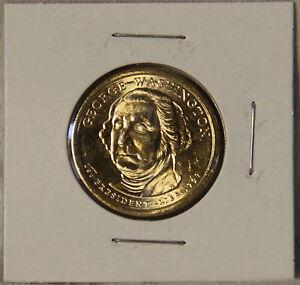 2007 George Washington Presidential Dollar Coins BU UNC P Mint Mark