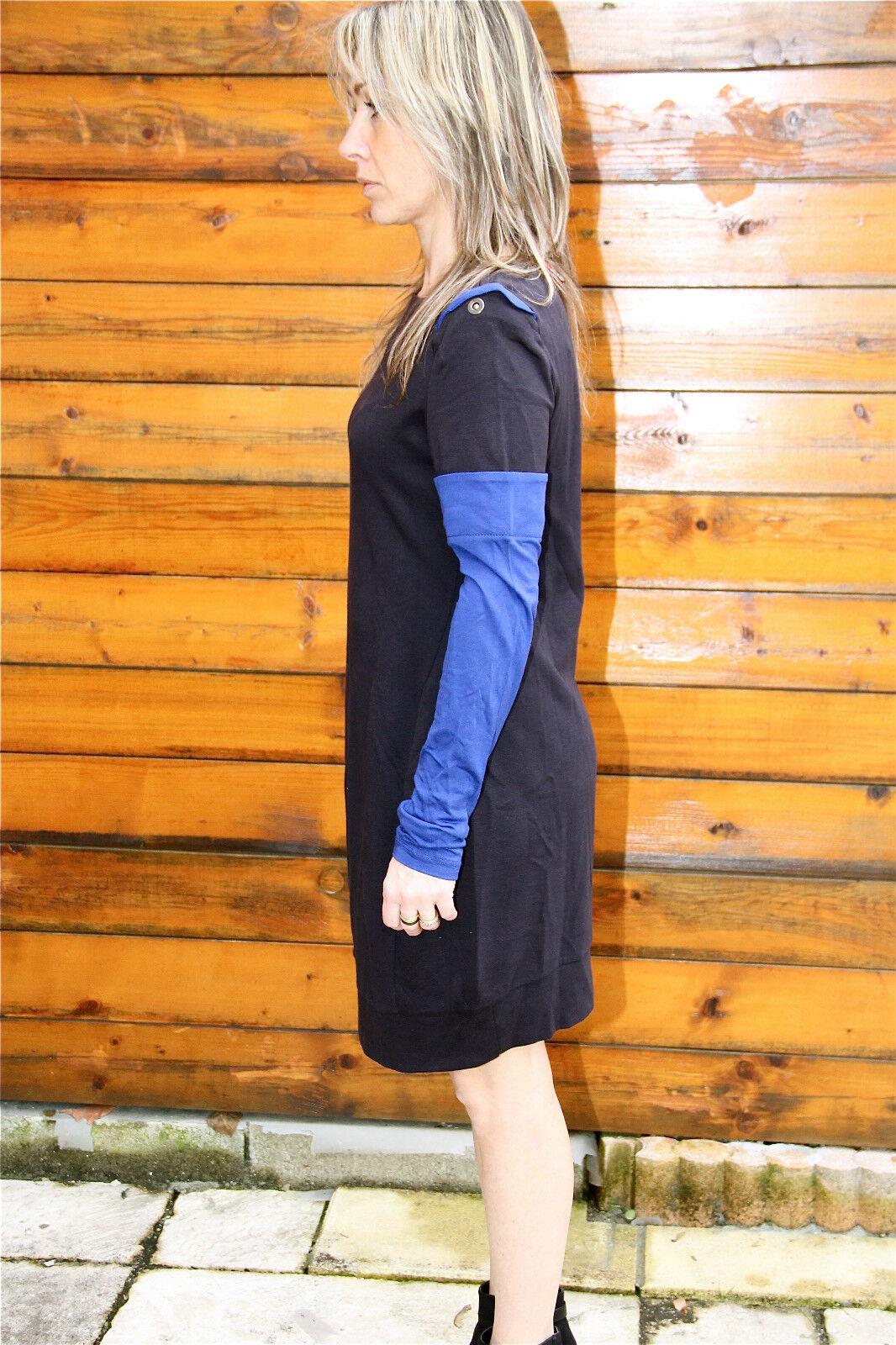 Dress robe tunique bicolor M& FRANCOIS GIRBAUD sleevescope T 44 44 44 NEUVE ÉTIQUETTE 48fe7c