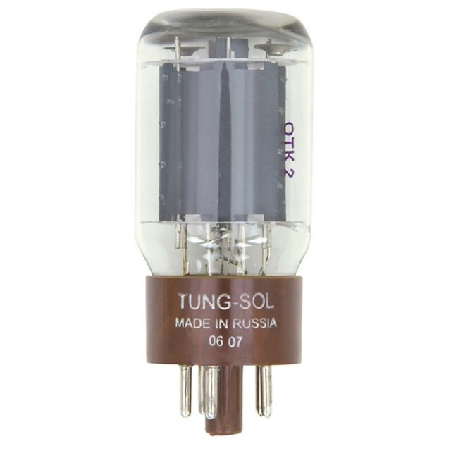New Plate Current Tested Tung-Sol Reissue 5881 / 6L6WC Vacuum Tube