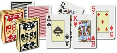 COPAG TEXAS HOLDEM POKER PLAYING CARDS - 100% Plastic
