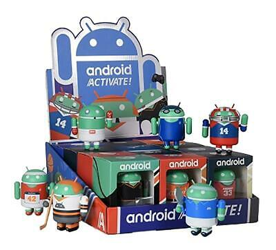 Android Blank Mini Figure DIY vinyl toy Dead Zebra Robot Google Andrew Bell