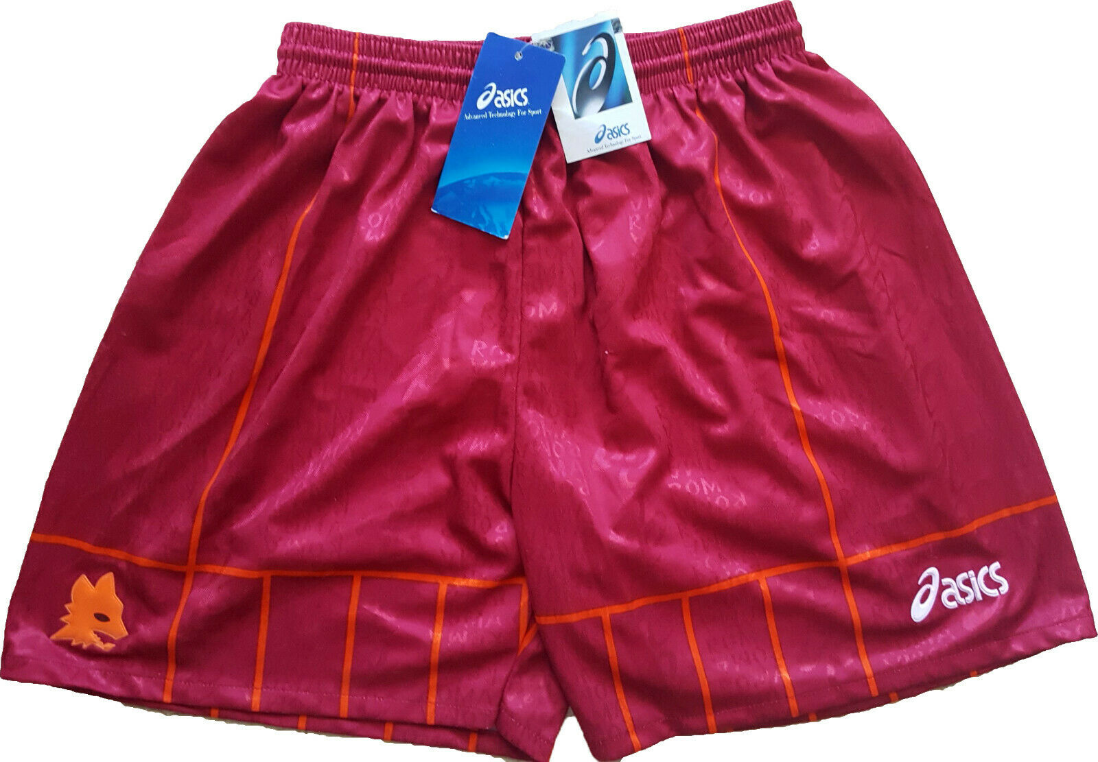 Totti shorts 1996 1997 asics Jugarer issue Jugarer issue magazzino  NEW XL  todos los bienes son especiales