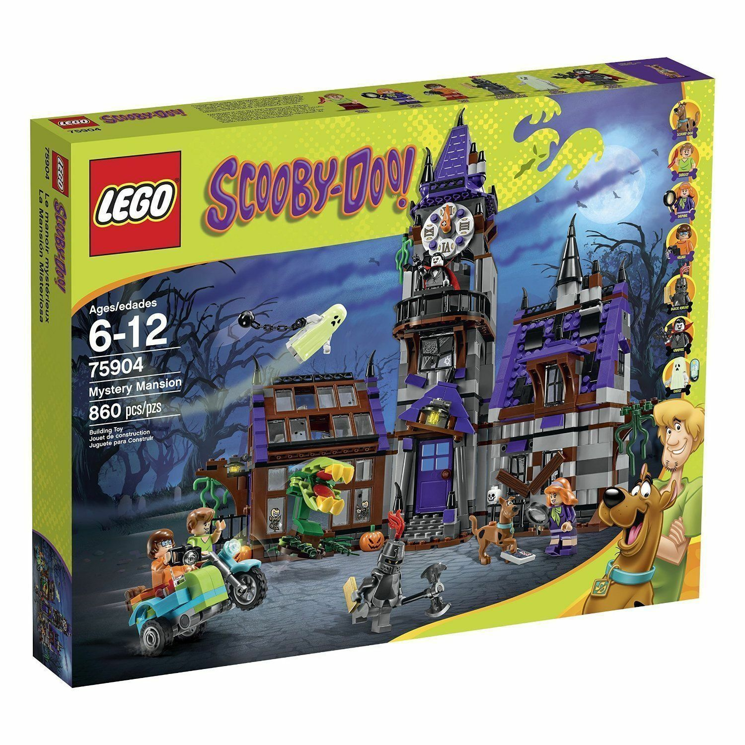 LEGO 75904 - SCOOBY-DOO - MYSTERY MANSION  NEW  SEALED BOX  LEGO SCOOBY