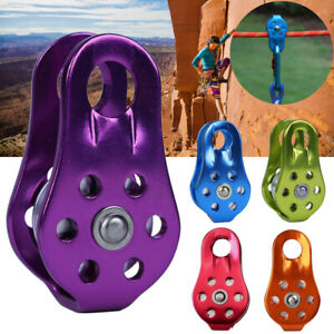 Outdoor Rescue Lifting Rock Climbing Fixed Rope Pulley Equipment