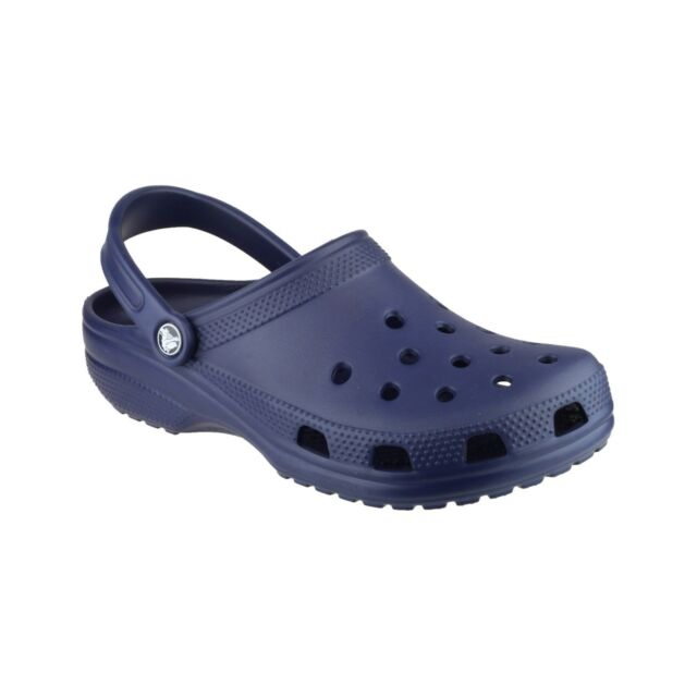 78c753483 Crocs Classic Cayman 10001-410 Navy Mens US Size 4 Womens 6 for sale ...