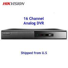 16 Channel Analog DVR WD1 960H Hikvision DS-7216HWI-SL Security CCTV