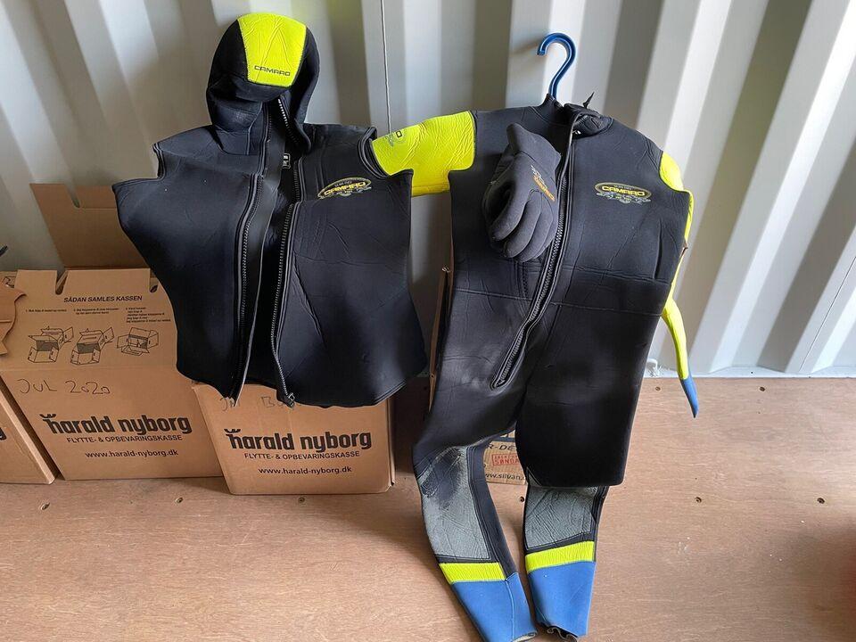 Komplet dykkerudstyr Scubapro/Mares/Camaro