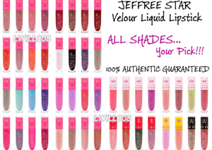 BNIB-Jeffree-Star-Velour-Liquid-Lipstick-Matte-FULL-SZ-AUTHENTIC-Choose-Color