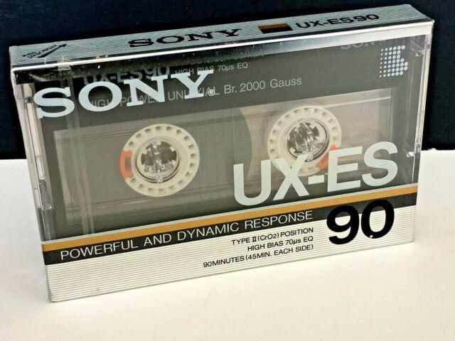1 SONY  UX  PRO    90    BLANK CASSETTE TAPE SEALED