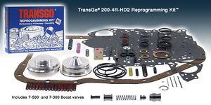 Transgo 2004r reprogramming kit 200 4r hd2 1981 on for chevy buick image is loading transgo 2004r reprogramming kit 200 4r hd2 1981 publicscrutiny Choice Image