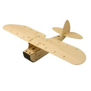 Balsa-Wood-KIT-Hand-Launch-Free-Flight-Glider-Model-Static-Plane-ZYO-6-Toy-model
