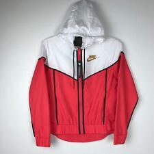 512002797 item 8 Women's NIKE Windrunner Jacket Sportswear Ember Glow/White Full Zip  XS 883495850 -Women's NIKE Windrunner Jacket Sportswear Ember Glow/White  Full Zip ...