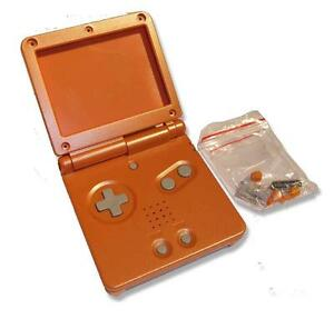 GameBoy-Game-Boy-Advance-GBA-SP-Orange-Replacement-Shell-Housing-w-Tools-UK