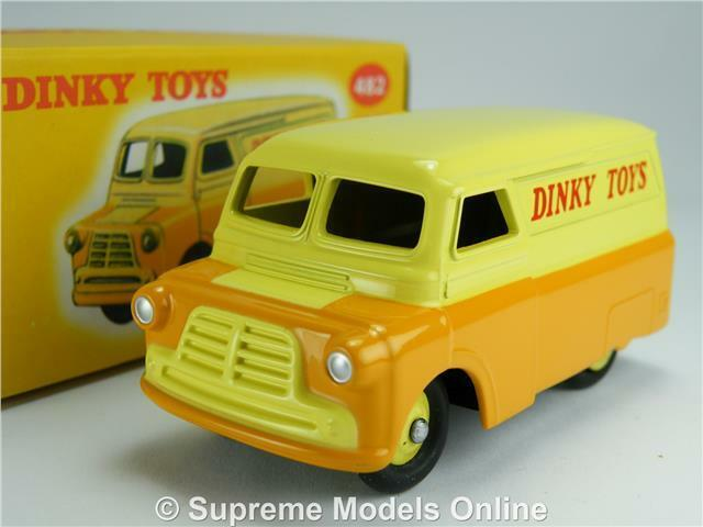 BEDFORD CA VAN MODEL 1 43 SIZE 482 DINKY TOYS ATLAS EDITIONS 10 CWT CLASSIC R0