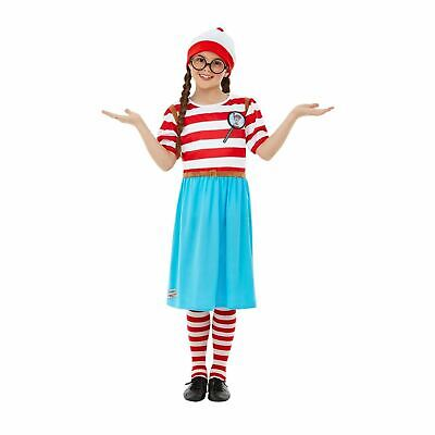 Where/'s Wally Adults Fancy Dress World Book Day Week Waldo Character Costumes