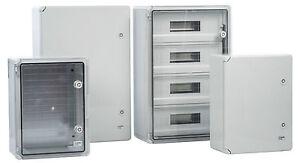 Kunststoff-Schaltschrank-Schaltschrank-Schrank-Gehaeuse-Verteiler-NEU-OVP