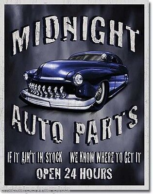 Vintage Replica Tin Metal Sign dodge cummins dependable diesel 1919 motor truck