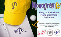 Amazing Designs Monogram It Embroidery Software 24 Font Styles Free Shipping