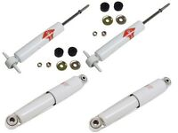 Chevrolet Corvette 1963-1982 Kyb Gas-a-just Front + Rear Shock Absorbers Kit