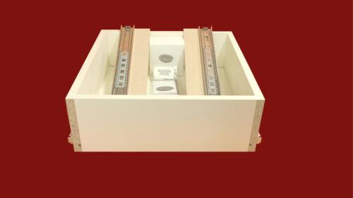 500mm D x 200mm H x 700mm Wide Bedroom Drawer Soft Close Runner