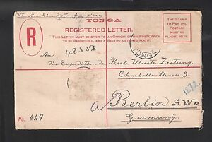 Tonga-1905-Postal-Stationery-to-New-Zealand-by-German-ship-not-stamps-TG107