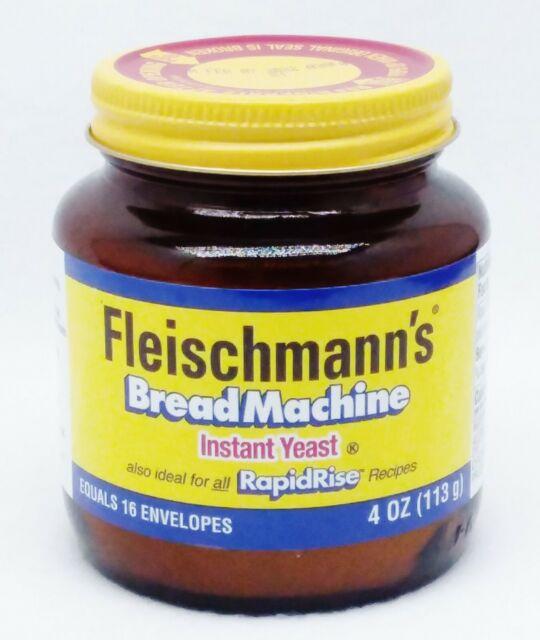 1 Fleischmann's BREAD MACHINE Instant Yeast for Baking ...
