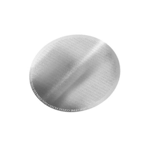 DISCO BEAN PLUS Filtro fine in acciaio inox o ceramica eco-friendly Drip Caffè Filtro