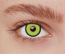 lentilles fantaisie de couleur mat hater crazy lens 1 an pour halloween zombie