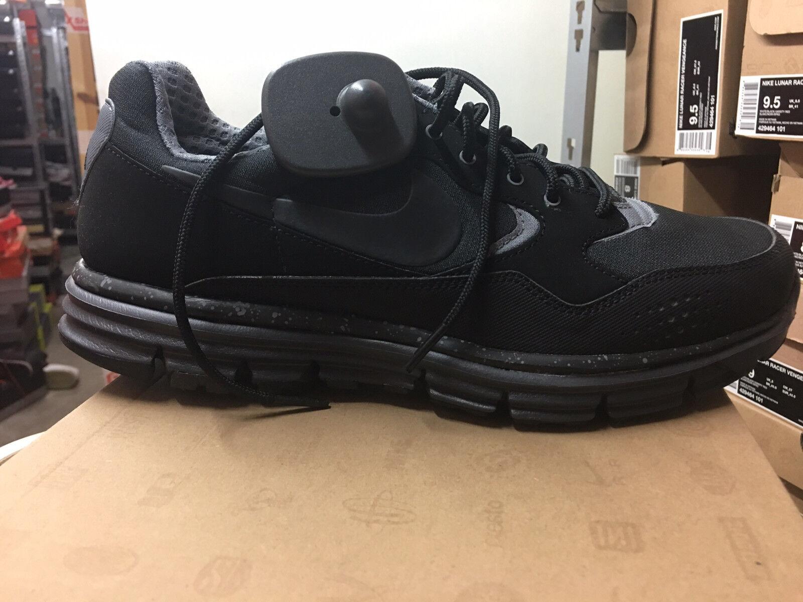NIKE Lunar Wood+ Sneaker Schuhe Gr:42 Black-Grey Trendiger Alltags Schuh Neu