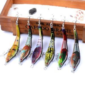 6x-Soft-Plastic-Vibe-Freshwater-Fishing-Lures-10mm-Bream-Bass-Flathead-Lures-AU