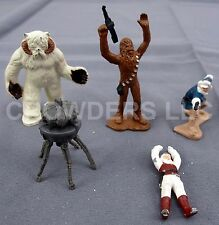 Star Wars Micro Collection Wampa Cave Die Cast Figurines Only Luke Han Chewie 82