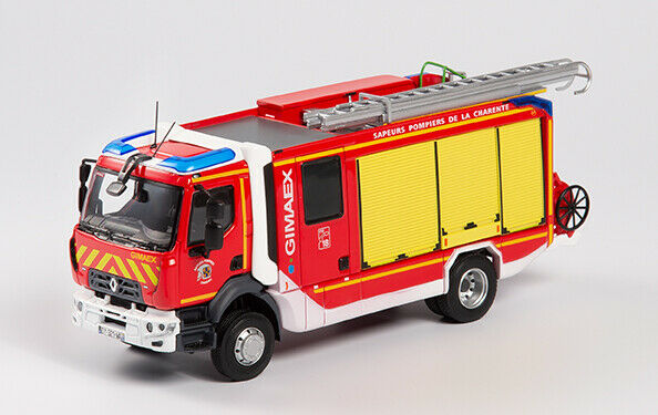 Eligor 116284 - Renault D16 - Fpt Sr Gimaex - Sdis 16 Pompieri 1 43