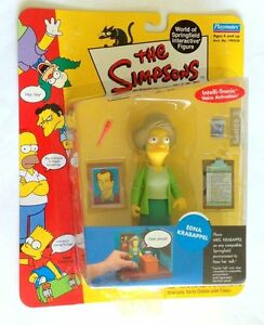 The-Simpsons-Edna-Krabappel-World-of-Springfield-Action-Figure-Playmates-NIB