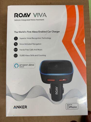 by Anker Roav VIVA Alexa-Enabled 2-Port USB Car Charger for In-Car Navigation,