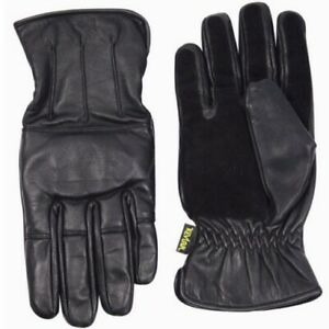 VIPER-ENFORCER-GLOVES-MENS-REAL-LEATHER-PADDED-KNUCKLE-MOTORBIKE-SECURITY