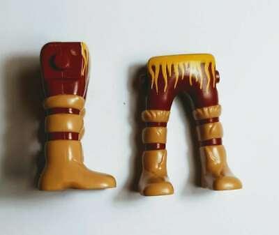 Playmobil Bota marrón. Lote 2 .PIERNAS.Jambes.VICKINGOS