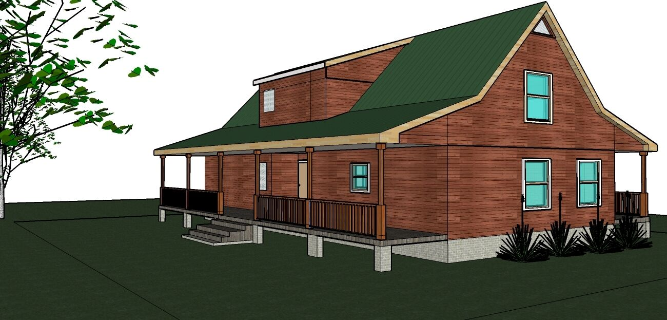 Dog Trot 2239 heated sq. ft  home with 3 bed rooms 2.5 bath rooms PDF